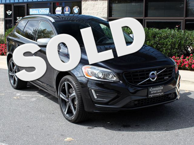 2014 Volvo XC60 T6 R-Design  Platinum AWD Rockville, Maryland