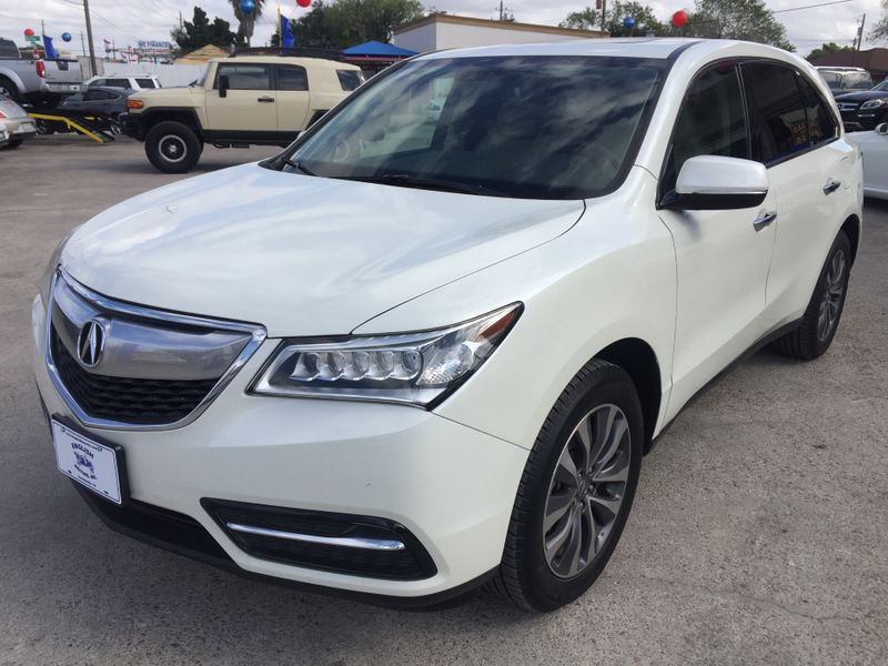 2015 Acura MDX TechEntertainment Pkg  Brownsville TX  English Motors  in Brownsville, TX