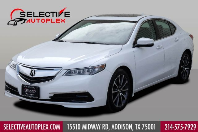 2015 Acura TLX Tech Pack NAVIGATION SUNROOF BLIND SPOT ASSIST LANE ASSIST in Addison, TX 75001