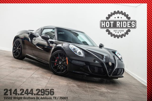 2015 Alfa Romeo 4C Coupe w/ Track Package Fully Loaded