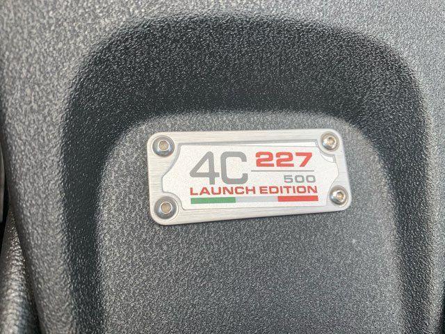 2015 Alfa Romeo 4C Launch Edition in Boerne, Texas 78006