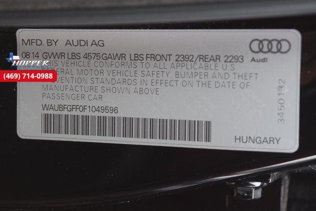 2015 Audi A3 2.0T Premium quattro in McKinney Texas, 75070