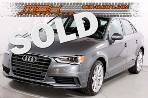 2015 Audi A3 Sedan 2.0T Premium - Quattro - Navigation in Los Angeles