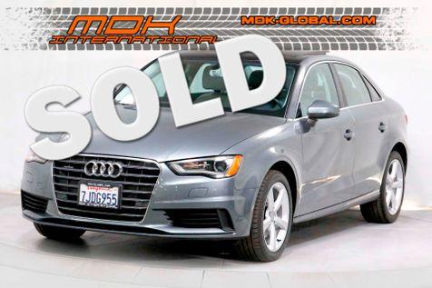 2015 Audi A3 Sedan 2.0T Premium - Quattro AWD - Navigation in Los Angeles