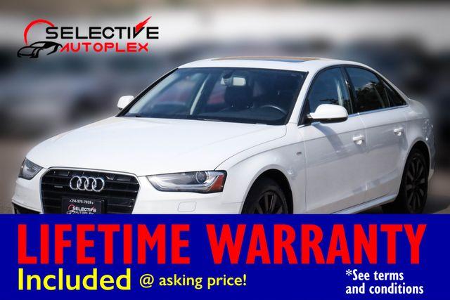 2015 Audi A4 Navigation Leather Seats Premium
