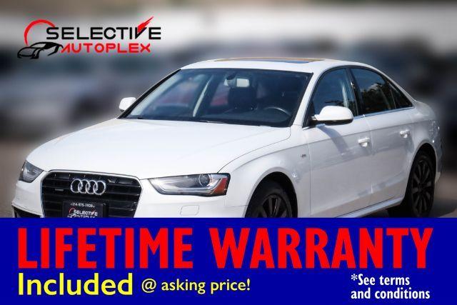 2015 Audi A4 Premium, NAV, LEATHER SEATS, SUNROOF, BLUETOOTH