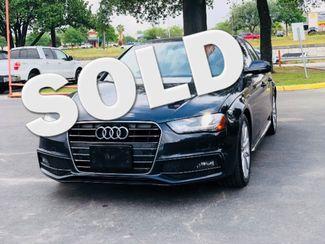 2015 Audi A4 Premium Plus in San Antonio, TX 78233