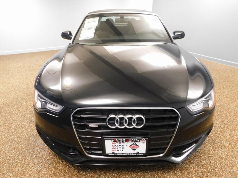 2015 Audi A5 Cabriolet Premium Plus  city Ohio  North Coast Auto Mall of Bedford  in Bedford, Ohio