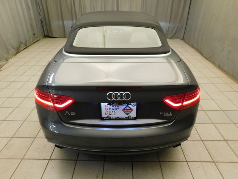 2015 Audi A5 Cabriolet Premium Plus  city Ohio  North Coast Auto Mall of Cleveland  in Cleveland, Ohio