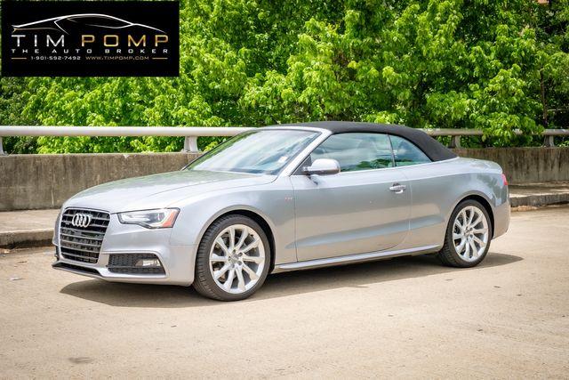 2015 Audi A5 Cabriolet Premium Plus 1 OWNER in Memphis, TN 38115