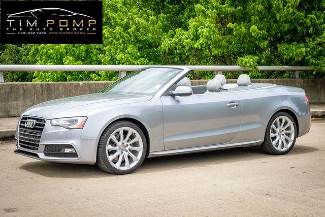 2015 Audi A5 Cabriolet Premium Plus 1 OWNER