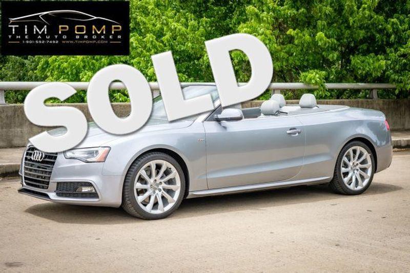2015 Audi A5 Cabriolet Premium Plus   Memphis, Tennessee   Tim Pomp - The Auto Broker in Memphis Tennessee