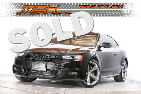 2015 Audi A5 Coupe Premium Plus - Sport Pkg Plus - Manual in Los Angeles