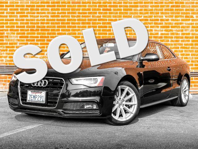 2015 Audi A5 Coupe Premium Plus Burbank, CA 0