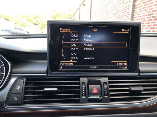 2015 Audi A6 2.0T Premium Plus ONE OWNER in Carrollton, TX 75006