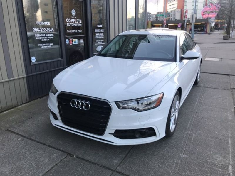 2015 Audi A6 30T Quattro Premium Plus Sport Driver Assist  Bose Cold  Warm Weather Packages 7705 In Options  city Washington  Complete Automotive  in Seattle, Washington
