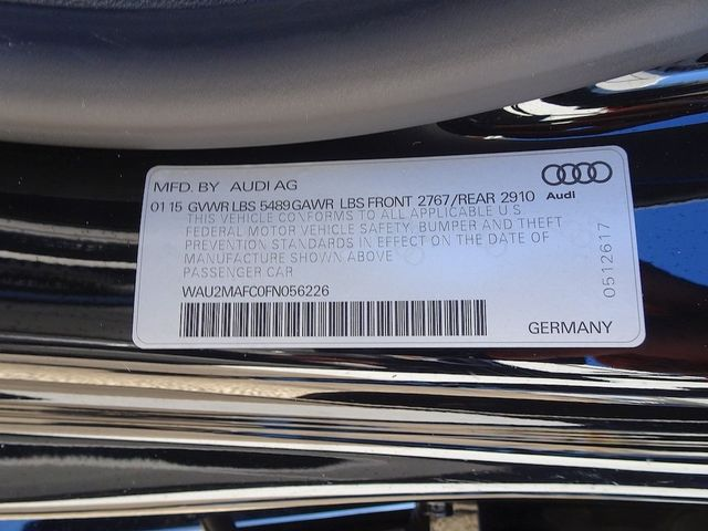 2015 Audi A7 3.0 TDI Prestige Madison, NC 58