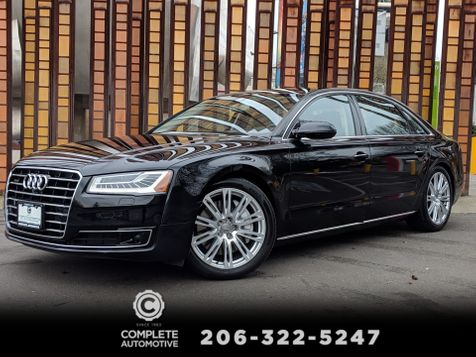 2015 Audi A8 L 4.0T Quattro Premium Luxury Driver Assist Cold Weather Packages in Seattle