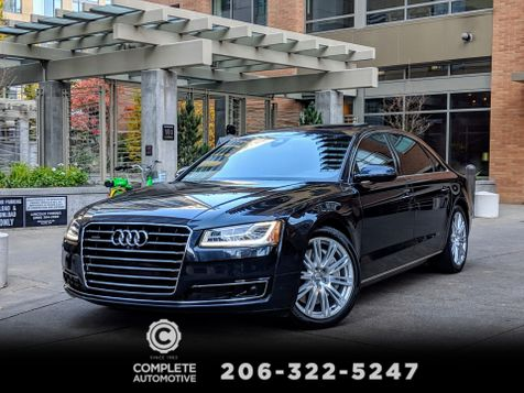 2015 Audi A8 L 4.0T Quattro Only 14,000 Miles MSRP $104,240  Driver Assist Luxury Cold Weather Premium Packages in Seattle