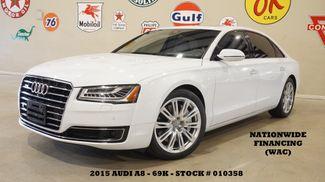2015 Audi A8 L 4.0T HUD,ROOF,NAV,360 CAM,HTD/COOL LTH,69K in Carrollton TX, 75006