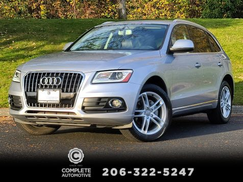 2015 Audi Q5 2.0T Premium Plus Quattro Tech Package Rear Camera Bang & Olufsen Local Nice in Seattle