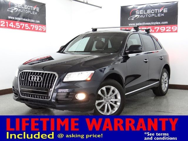 2015 Audi Q5 Premium, PANO ROOF, WOODGRAIN TRIM, LUGGAGE RACK in Carrollton, TX 75006