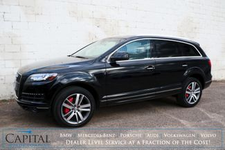 2015 Audi Q7 3.0T Premium Plus Quattro AWD SUV w/3rd Row Seats, Nav, Backup Cam, Panoramic Roof & Tow Pkg in Eau Claire, Wisconsin 54703