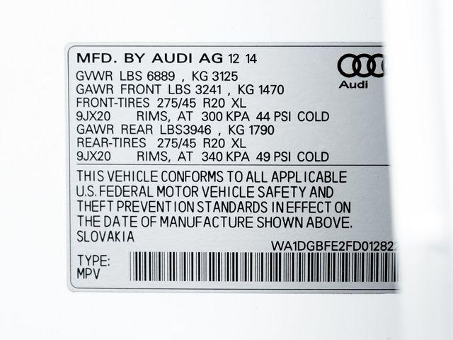 2015 Audi Q7 3.0T S line Prestige Burbank, CA 36