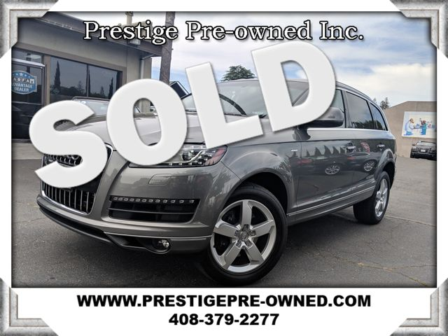 2015 Audi Q7 3.0T PREMIUM (*NAVI/BACK UP CAM/ LOW 6K MILES*)  in Campbell CA