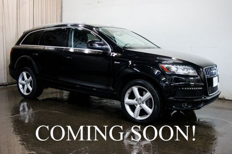 2015 Audi Q7 Prestige Quattro AWD S-Line w/3rd Row Seats, Navi, Heated F/R Seats, Panoramic Roof & Tow Pkg in Eau Claire