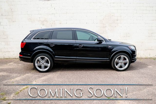 2015 Audi Q7 3.0T Premium Plus w/ Navi, Backup Cam, Heated Seats, Panoramic Roof & 3rd Row Seats in Eau Claire, Wisconsin 54703