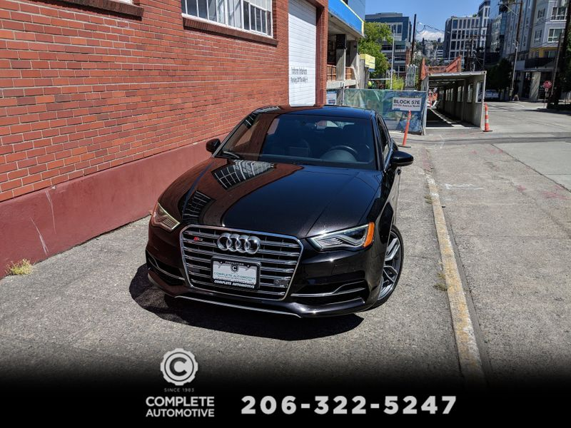 2015 Audi S3 20T Quattro Prestige 292HP Performamce Packages BO Sound Navi Rear Camera 2 ON SALE   city Washington  Complete Automotive  in Seattle, Washington