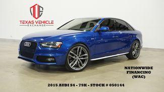 2015 Audi S4 Premium Plus ROOF,NAV,BACK-UP,HTD LTH,B&O SYS,79K in Carrollton, TX 75006