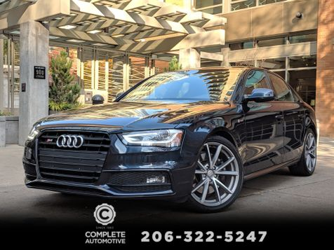 2015 Audi S4 3.0T Premium Plus Quattro Supercharged 333HP  Local 1 Owner Sports Diff Navi Rear Camera NICE!   in Seattle