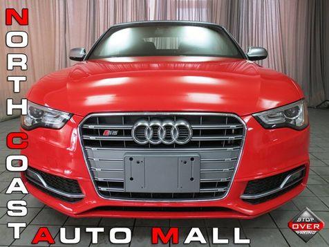 2015 Audi S5 Cabriolet Premium Plus in Akron, OH