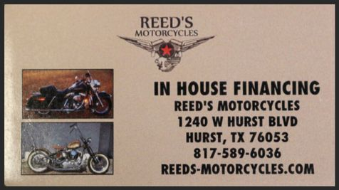 2015 Bad Credit No Problem ASK ABOUT OUR LAY-AWAY    Hurst, Texas   Reed's Motorcycles in Hurst, Texas