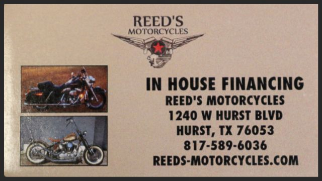2015 Bad Credit No Problem ASK ABOUT OUR LAY-AWAY    Hurst, Texas   Reed's Motorcycles in Hurst Texas
