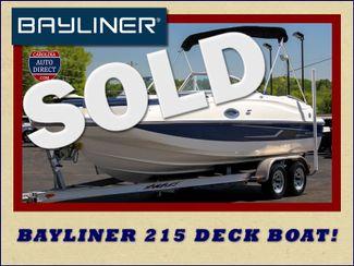 2015 Bayliner 215 Deck Boat Mooresville , NC