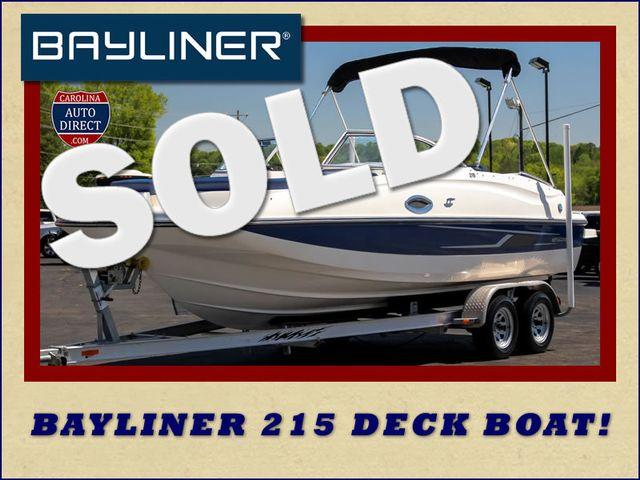 2015 Bayliner 215 Deck Boat Mooresville , NC 0