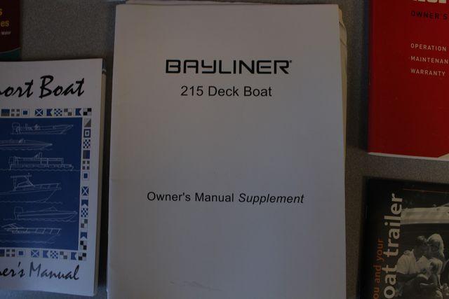 2015 Bayliner 215 Deck Boat Mooresville , NC 76