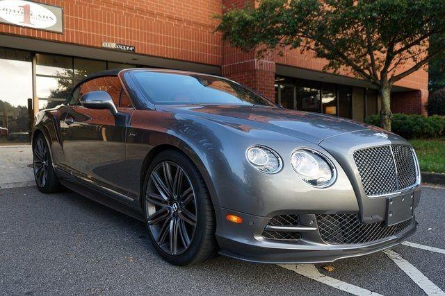 2015 Bentley Continental GT Speed Speed