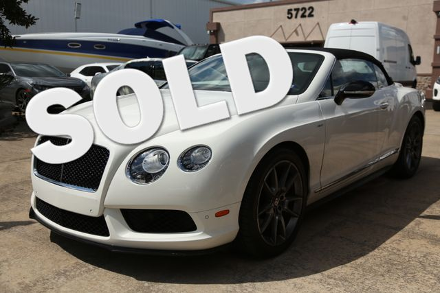 2015 Bentley Continental GTC V8 S CONVT Houston, Texas 0