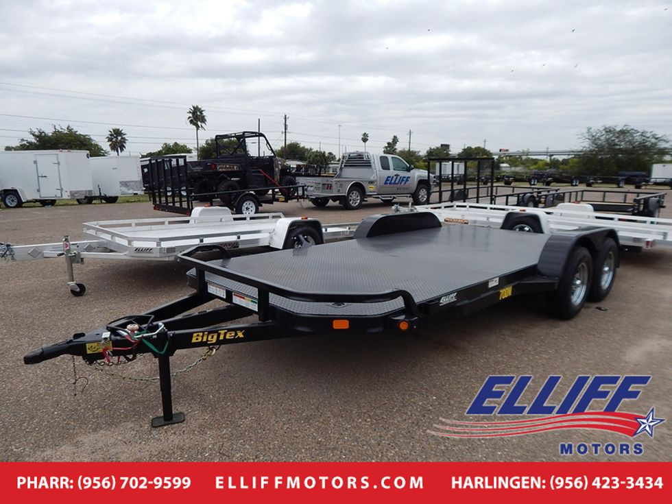 2018 Big Tex 70DM 20FT DIAMOND BACK CAR HAULER | Harlingen TX