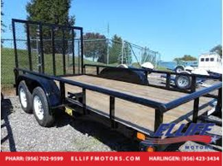2018 Big Tex 70PI 16FT W/ GATE in Harlingen TX, 78550