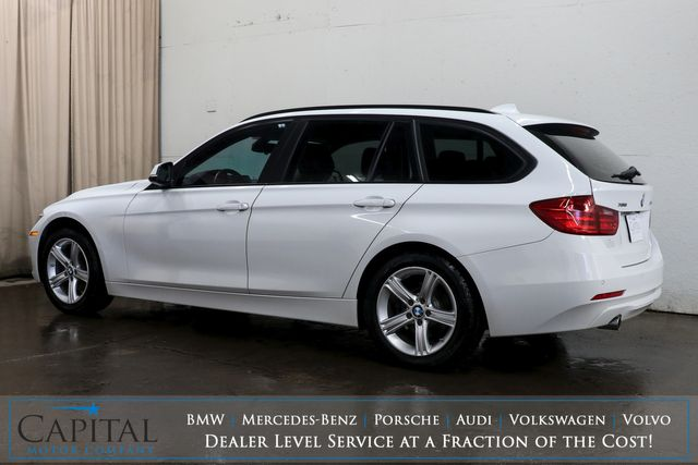2015 BMW 328d xDrive AWD Clean Diesel Sport Wagon w/Backup Cam, Heated Seats, Panoramic Roof & Gets 40+ MPG in Eau Claire, Wisconsin 54703