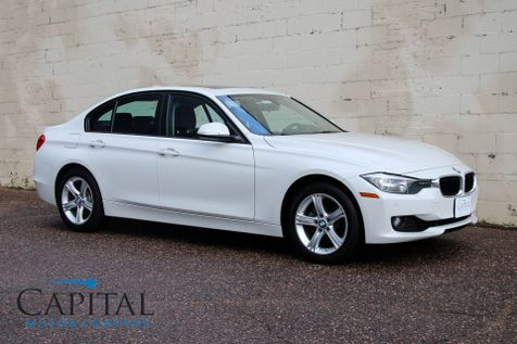2015 BMW 328xi xDrive AWD with Navigation, Backup Cam, Heated Seats, Moonroof, HiFi Audio with Bluetooth in Eau Claire