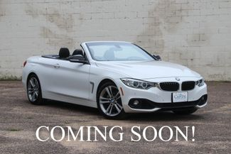 2015 BMW 428i Sport Pkg Hard Top Convertible w/Navigation, in Eau Claire, Wisconsin