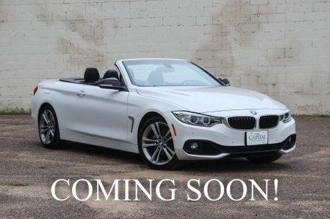 2015 BMW 428i Sport Pkg Hard Top Convertible w/Navigation, Heated Seats, Bluetooth Audio & Gets 34MPG in Eau Claire