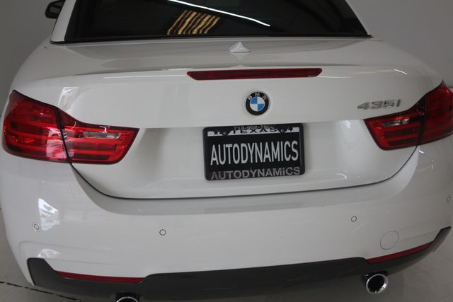 2015 BMW 435i Convertible Houston, Texas 13