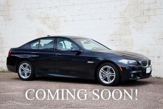 2015 BMW 528xi xDrive Executive Sedan w/M-Sport Pkg, Driver in Eau Claire, Wisconsin